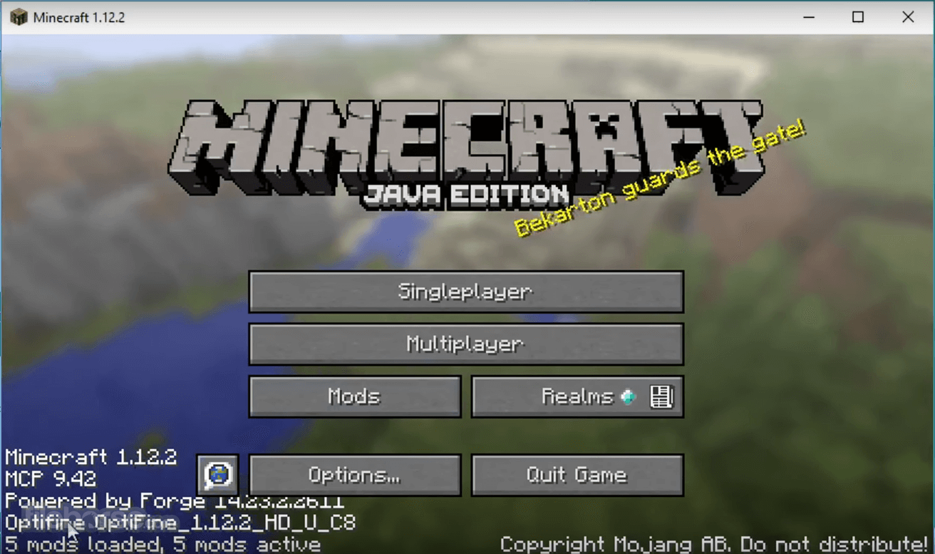 Minecraft Forge 1 12 2 Download For Windows 10 8 7