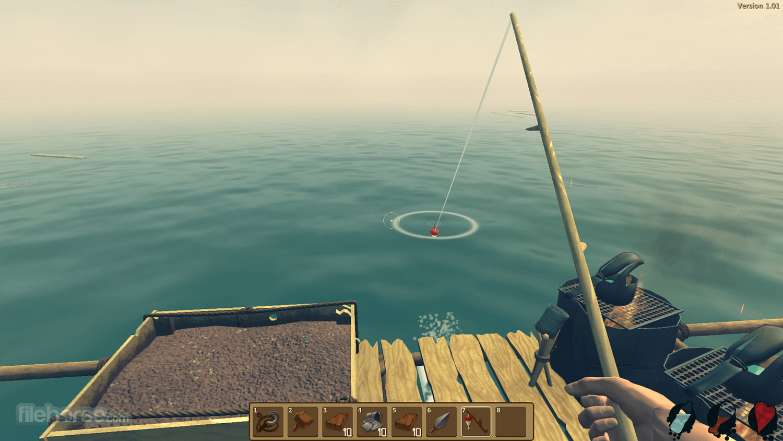 Raft 1.05b Screenshot 1