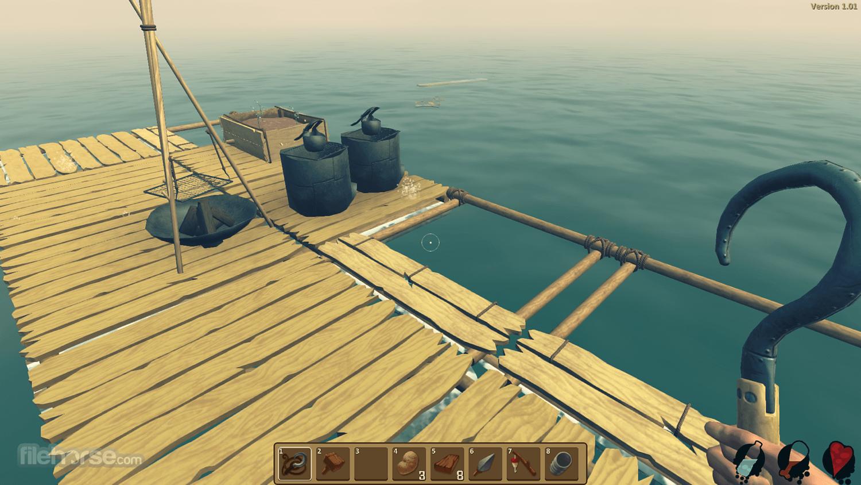 Raft 1.05b Screenshot 5