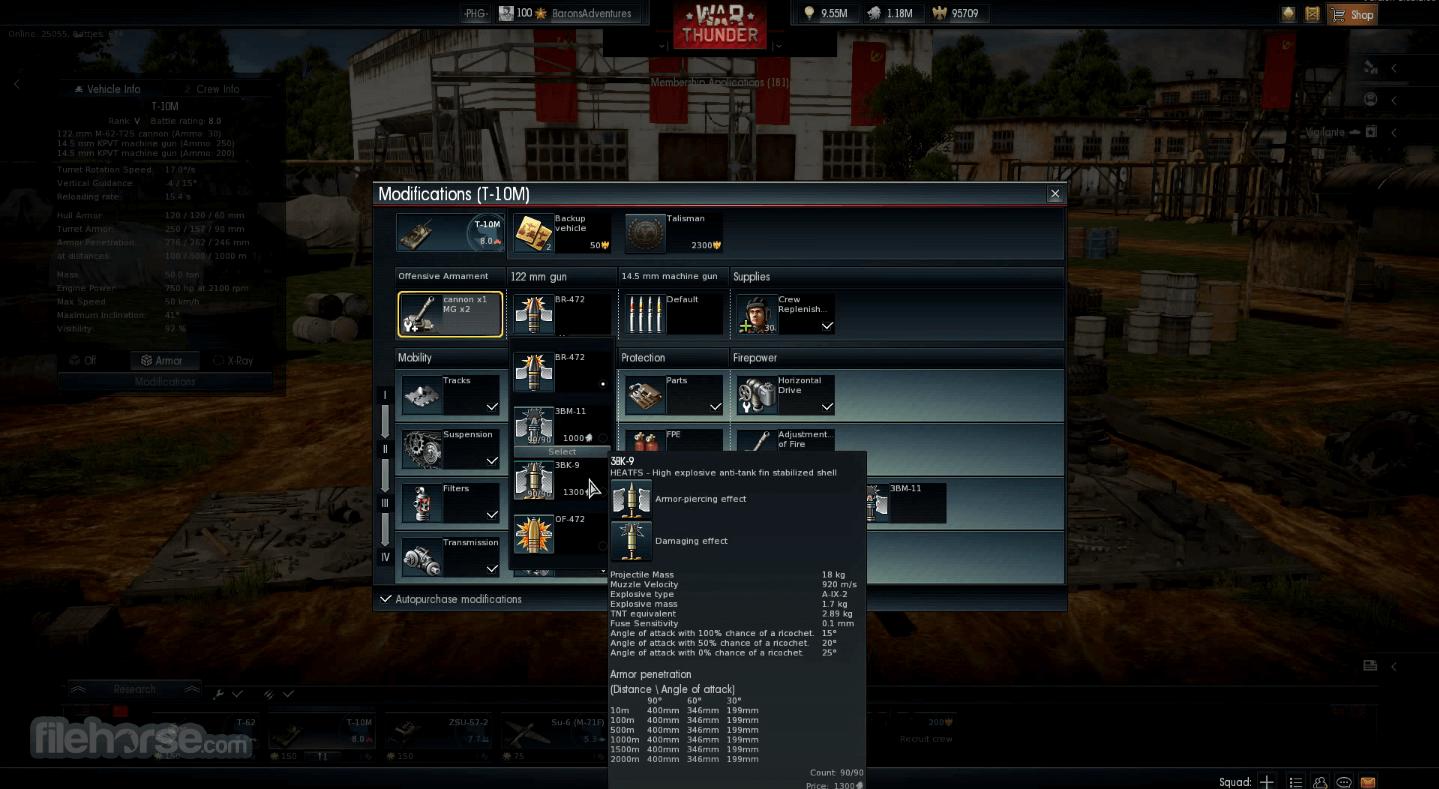 War thunder gameplay pc