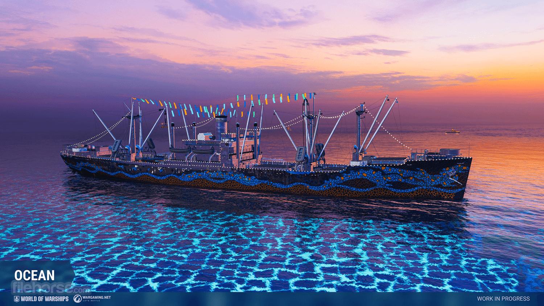 World of Warships Captura de Pantalla 2