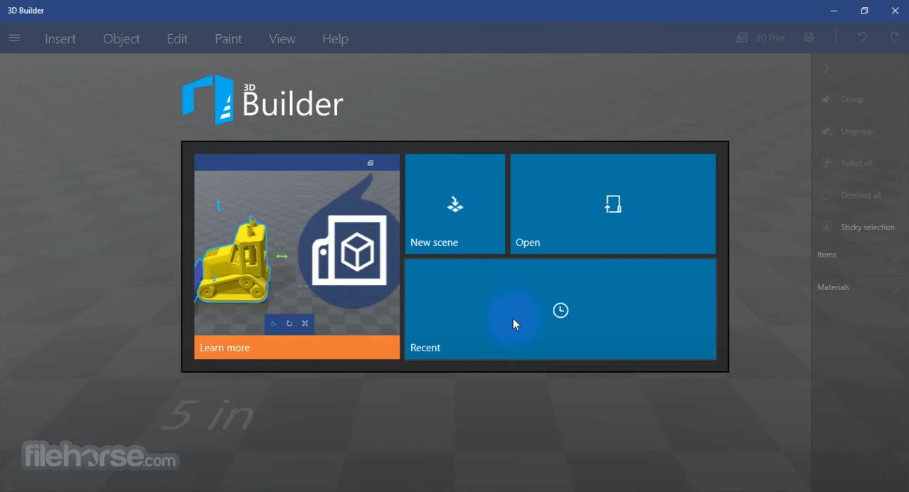 Download  3D Builder for Windows free 2021