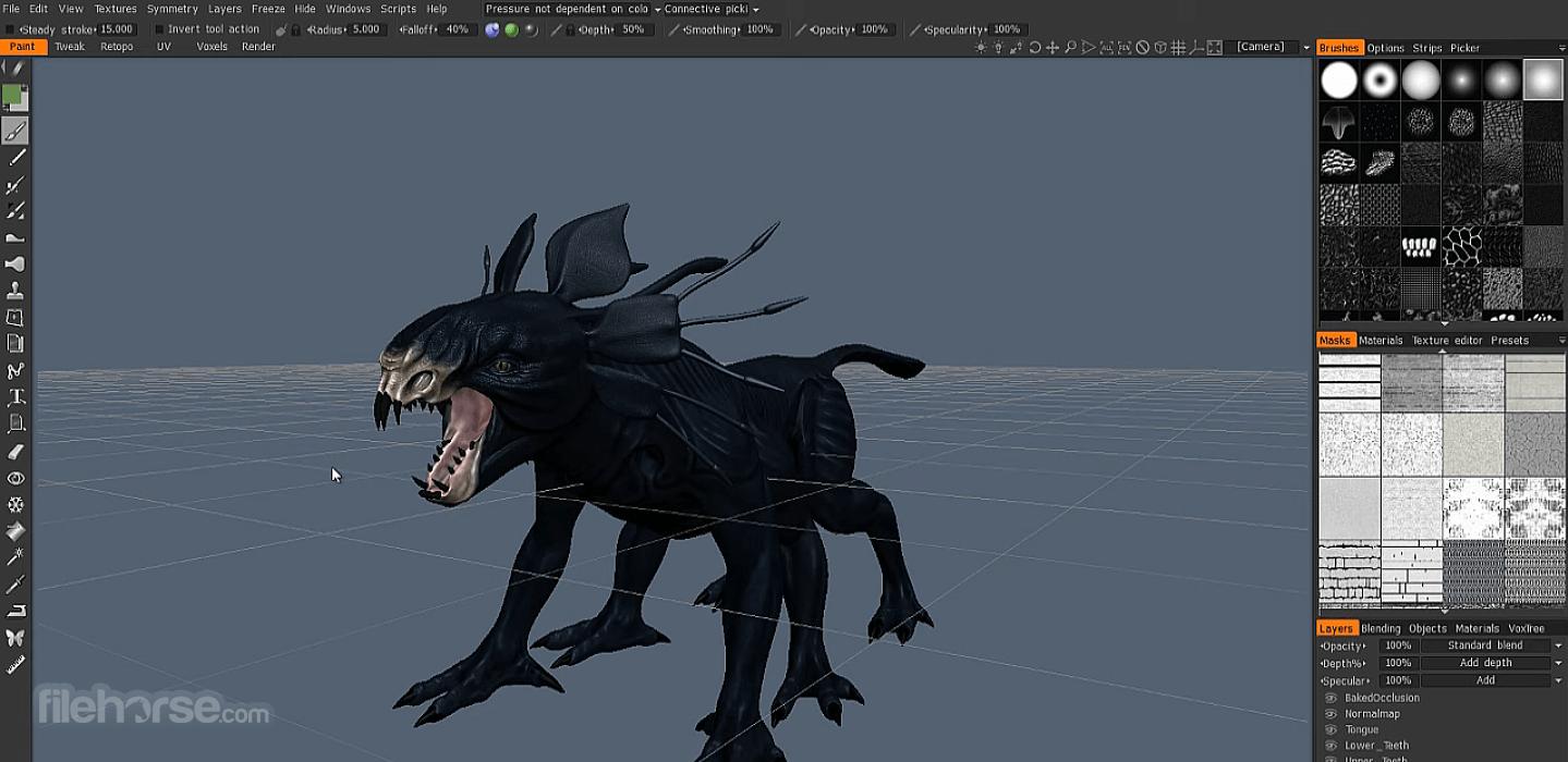 3D Coat 4.9.62 Screenshot 4