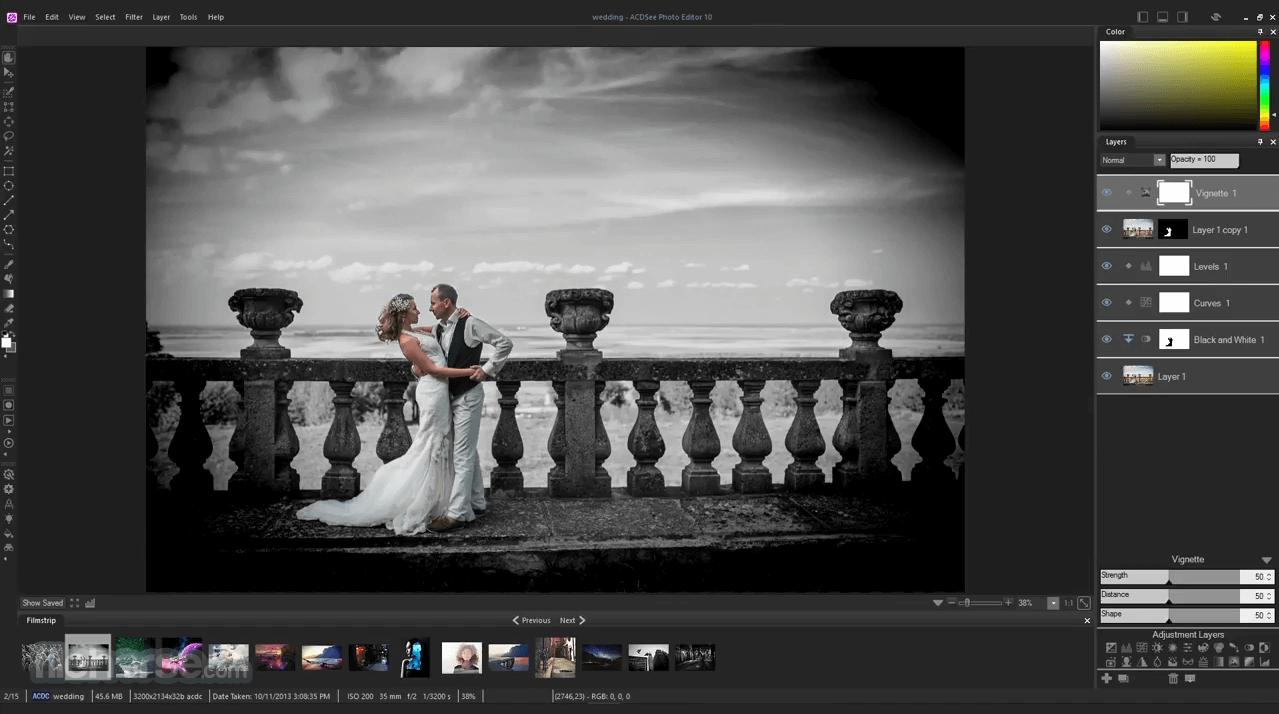 ACDSee Photo Editor 10.0 Build 46 Captura de Pantalla 2
