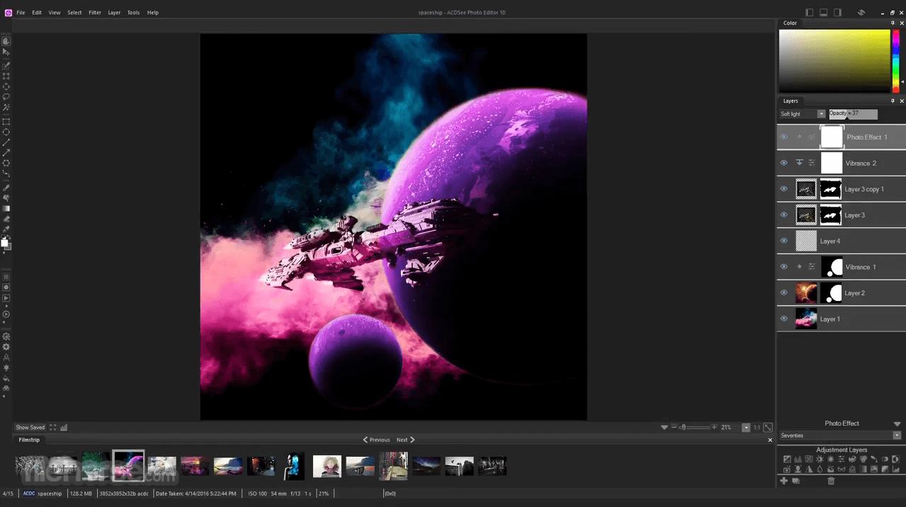 ACDSee Photo Editor 10.0 Build 46 Captura de Pantalla 3