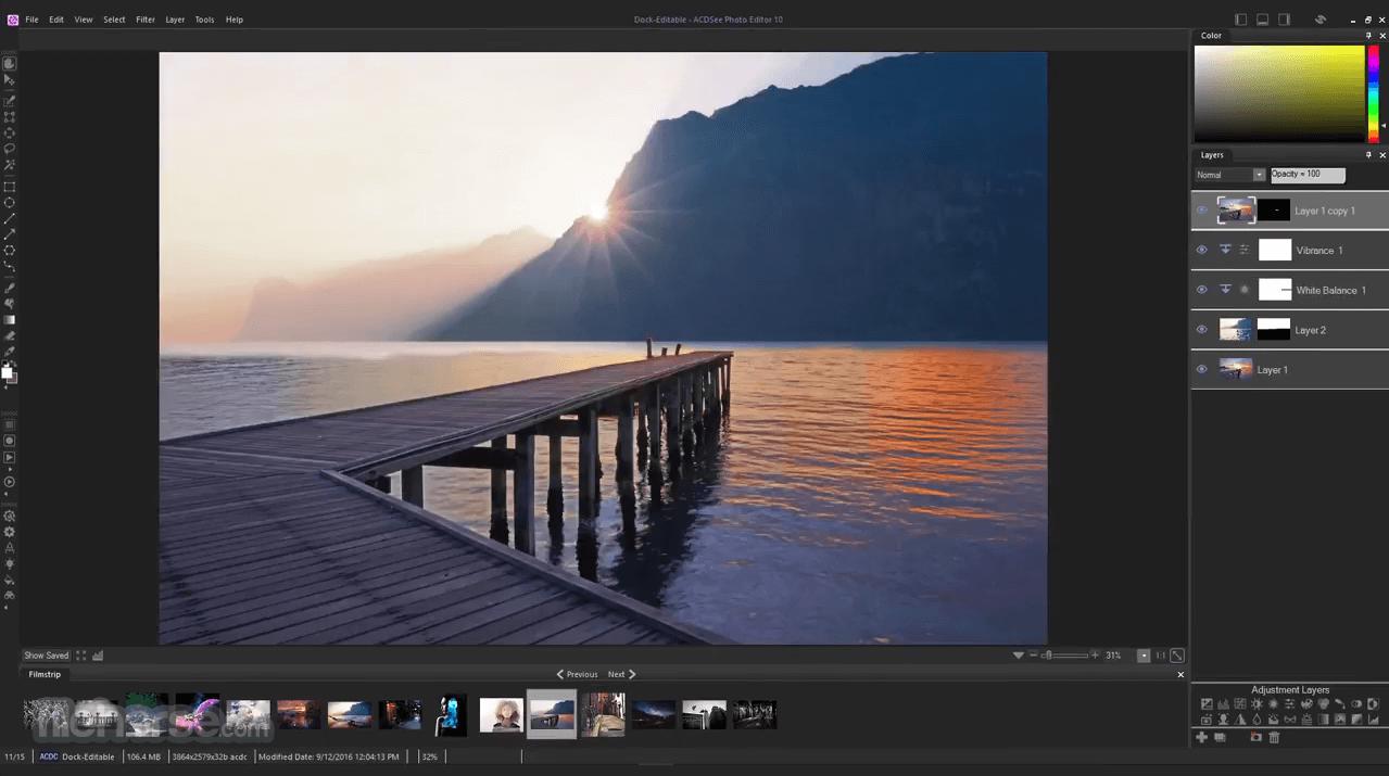 ACDSee Photo Editor 10.0 Build 46 Captura de Pantalla 4