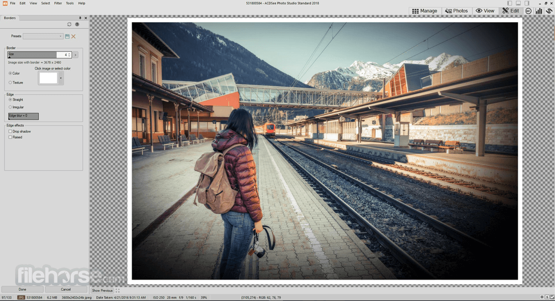 ACDSee Photo Studio Standard 2019 22.0 Build 1087 (64-bit) Captura de Pantalla 3