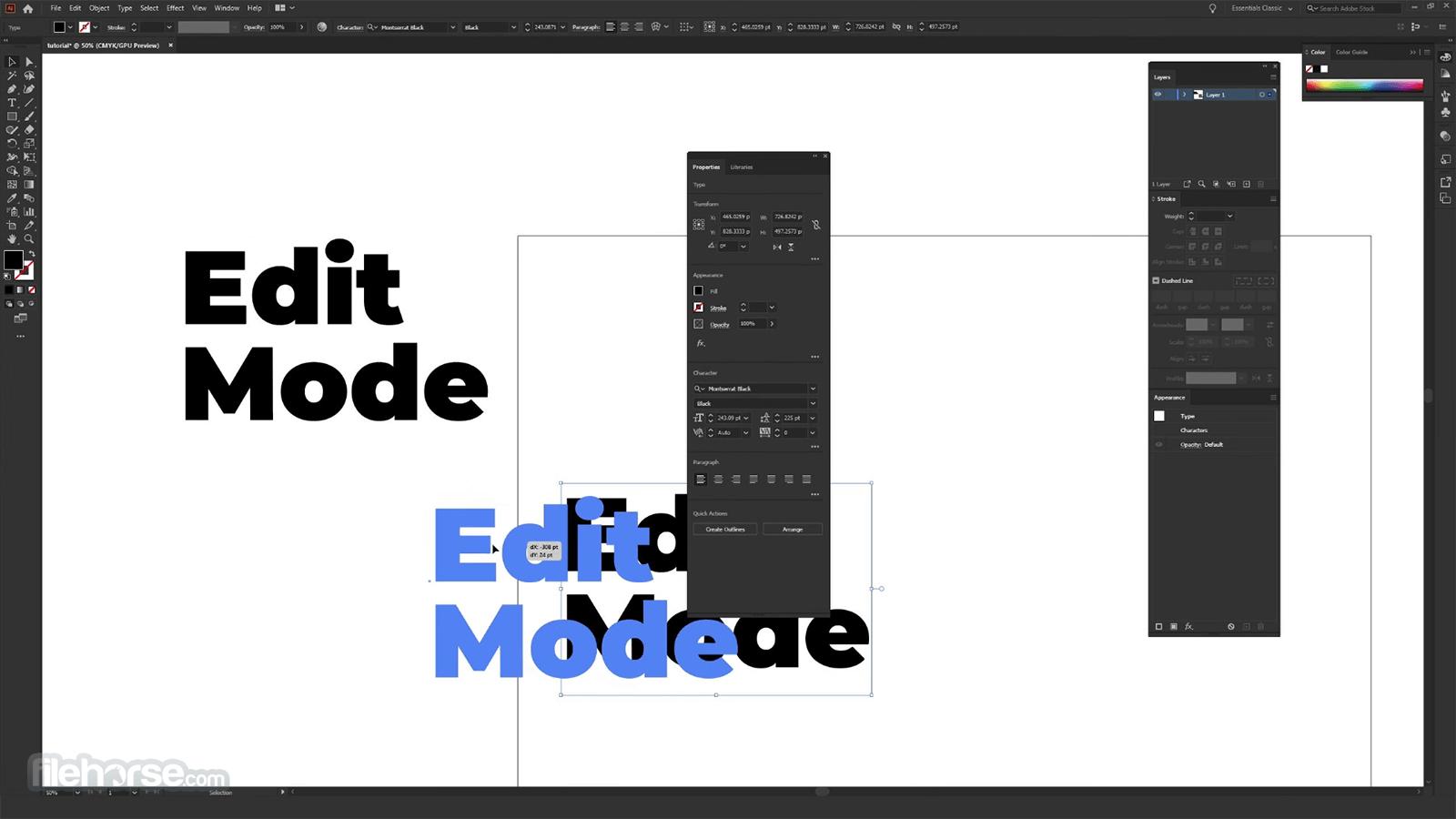 Adobe Illustrator CC 2020 24.3.0.569 Screenshot 2