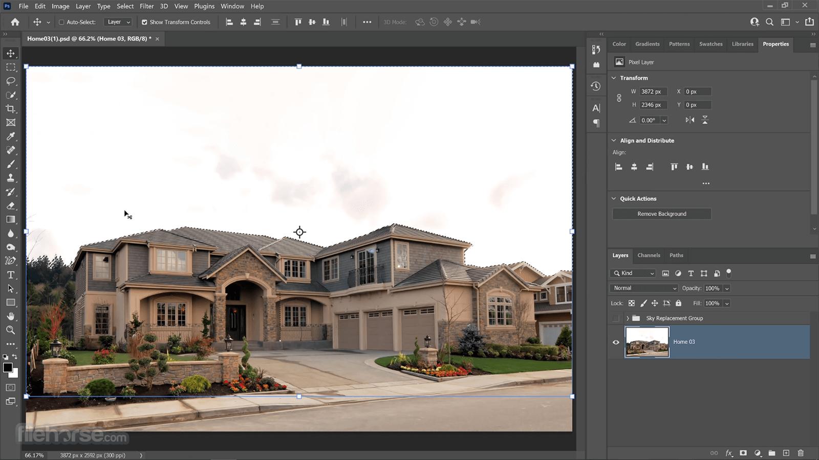 Adobe Photoshop CC 2021 22.3 (64-bit) Screenshot 1