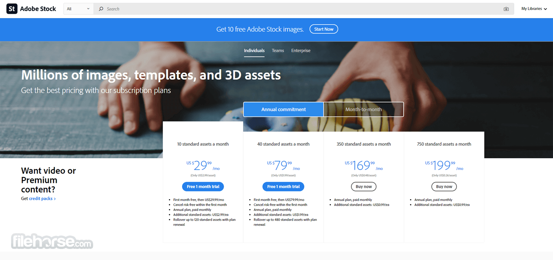 Adobe Stock Screenshot 4
