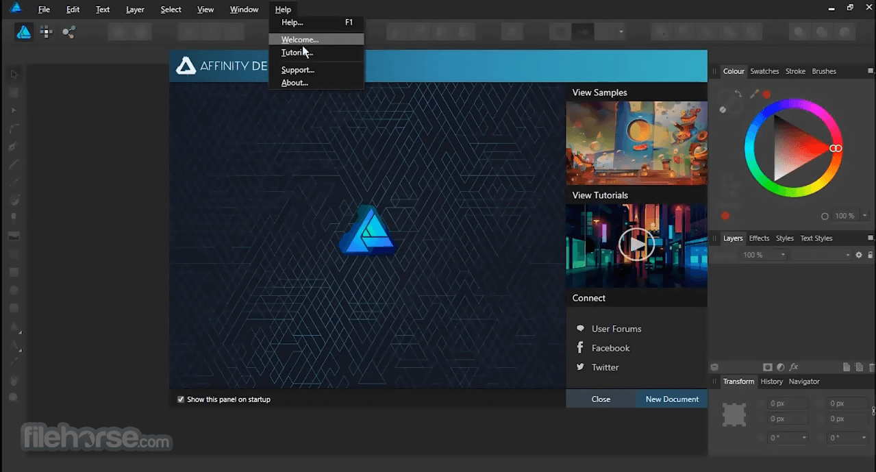 Affinity Designer 1.8.5.703 Screenshot 2