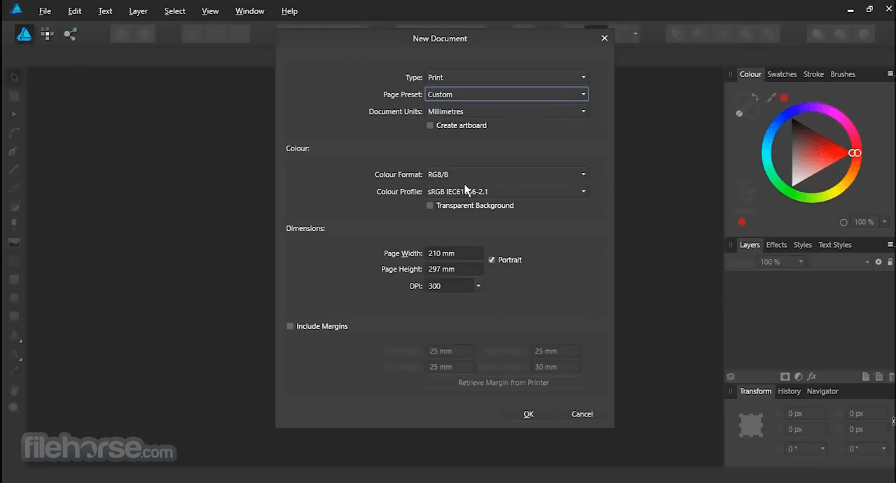 Affinity Designer 1.8.5.703 Screenshot 3