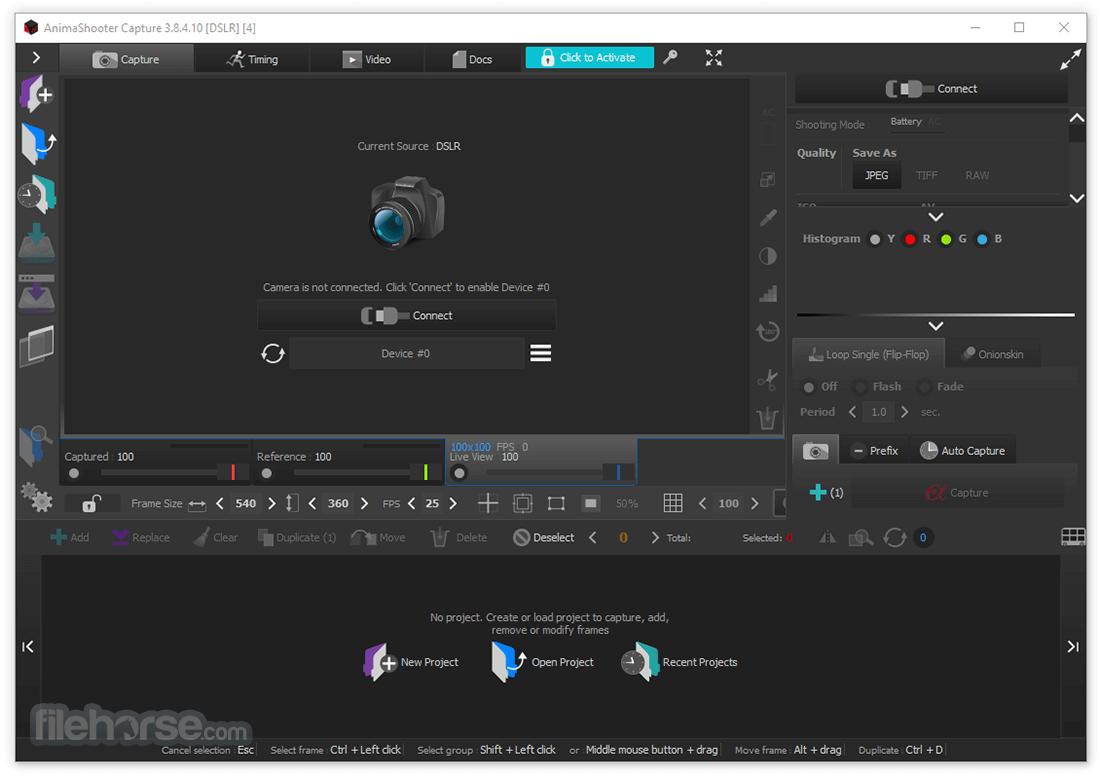 AnimaShooter Capture 3.8.5.32 Captura de Pantalla 1