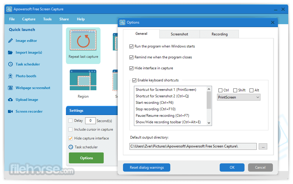 Apowersoft Free Screen Capture 1.3.5 Screenshot 2
