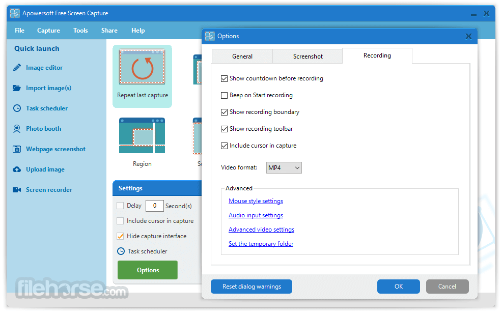 Apowersoft Free Screen Capture 1.3.5 Screenshot 4
