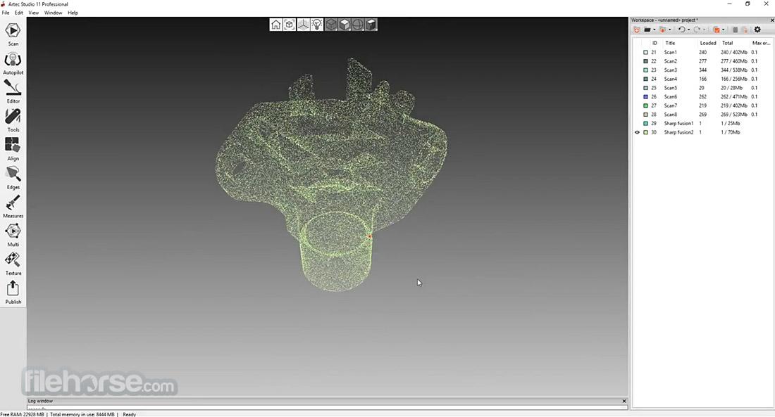 Artec Studio 12.1.6.16 (64-bit) Captura de Pantalla 2