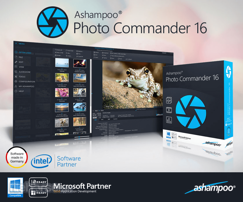 Ashampoo Photo Commander 16.0.4 Captura de Pantalla 1