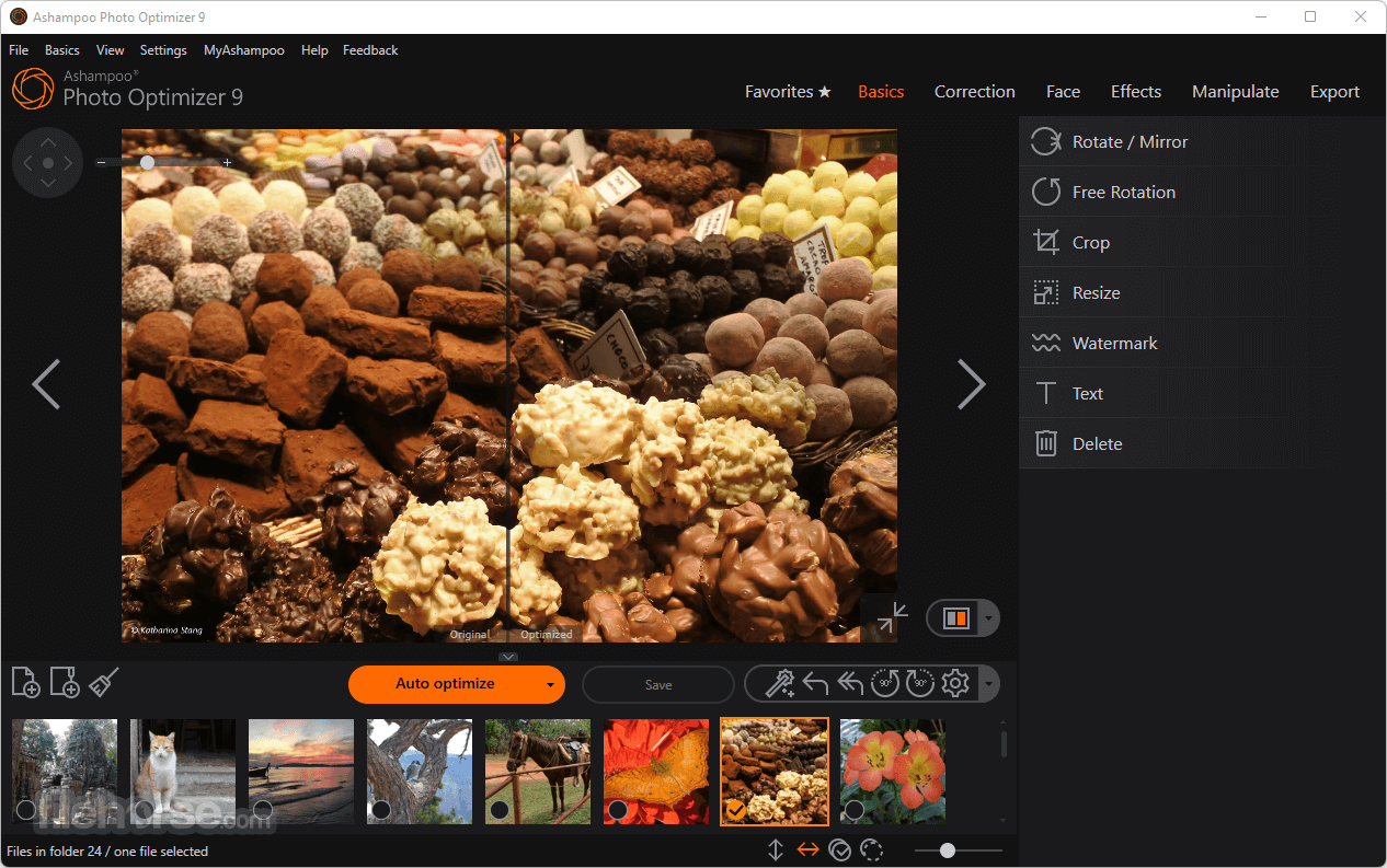 Ashampoo Photo Optimizer 7.0.0 Captura de Pantalla 1