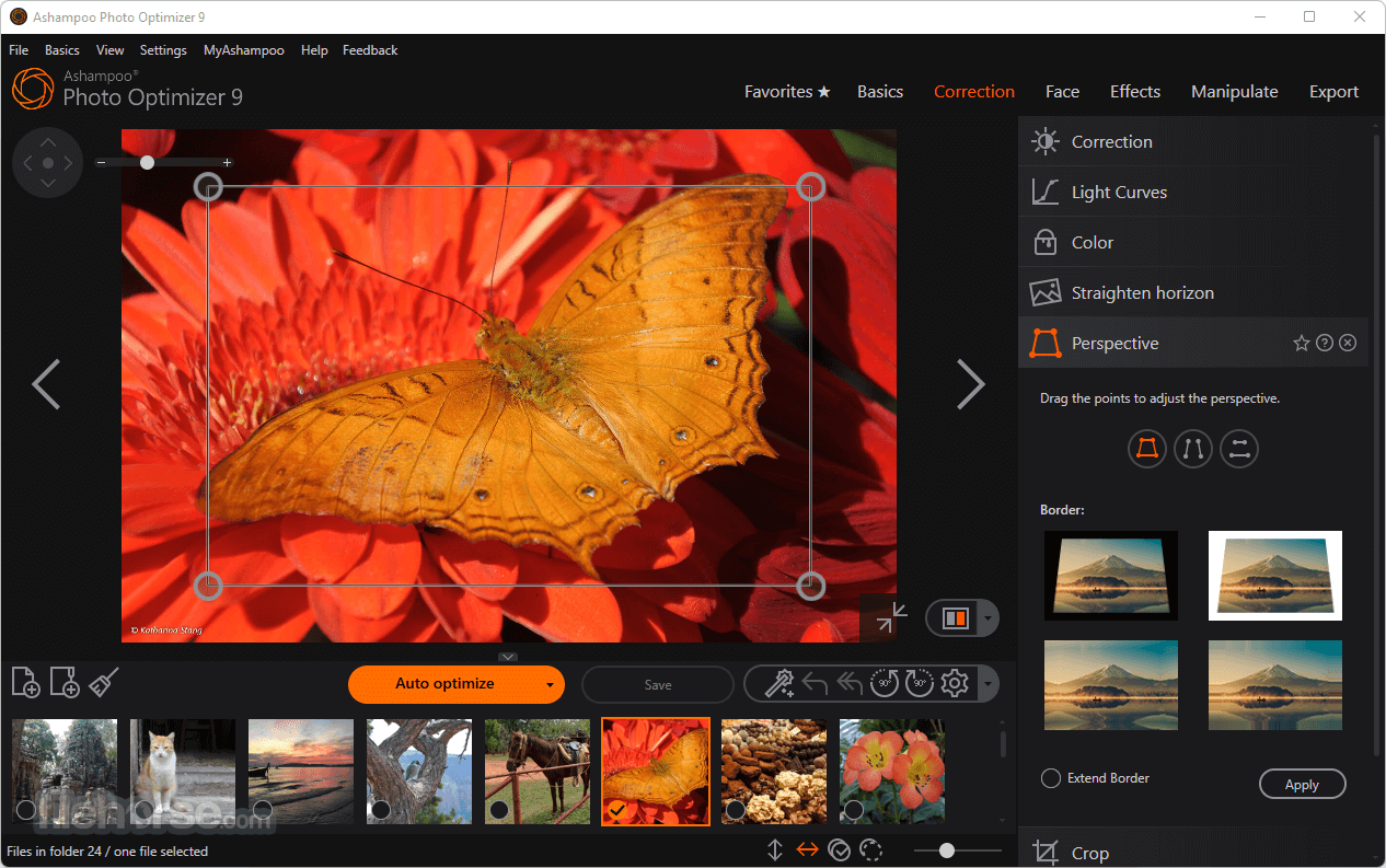 Ashampoo Photo Optimizer 7.0.0 Captura de Pantalla 2