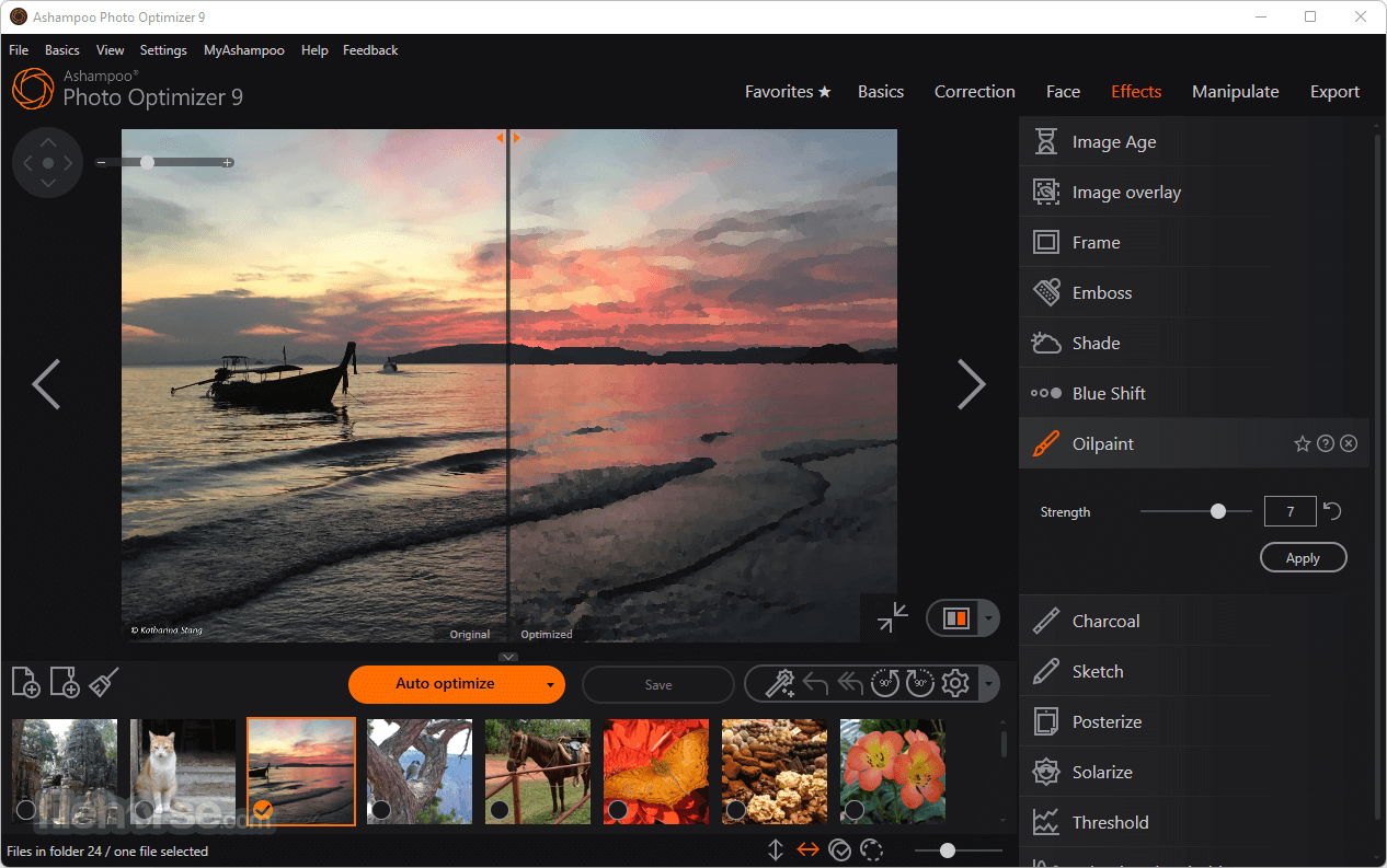 Ashampoo Photo Optimizer 7.0.0 Captura de Pantalla 5