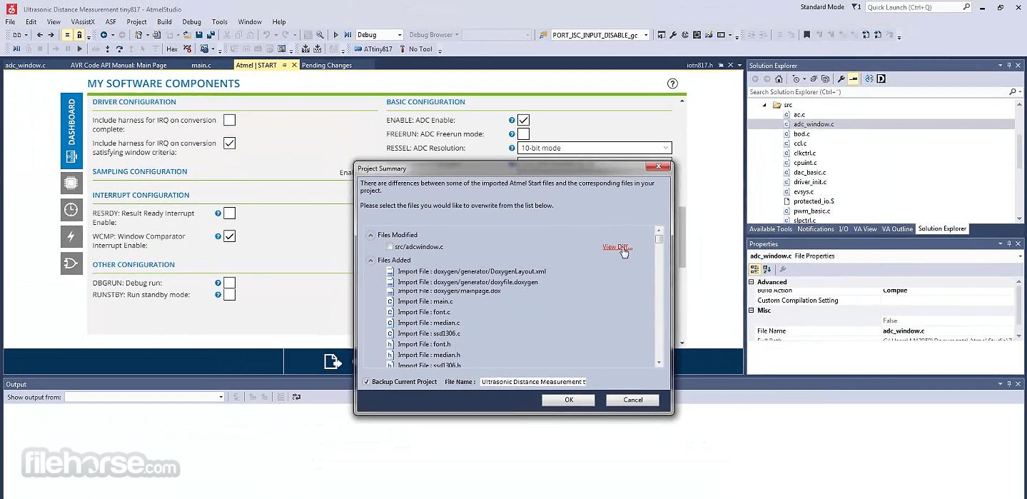 Atmel Studio 7.0.2397 Screenshot 4