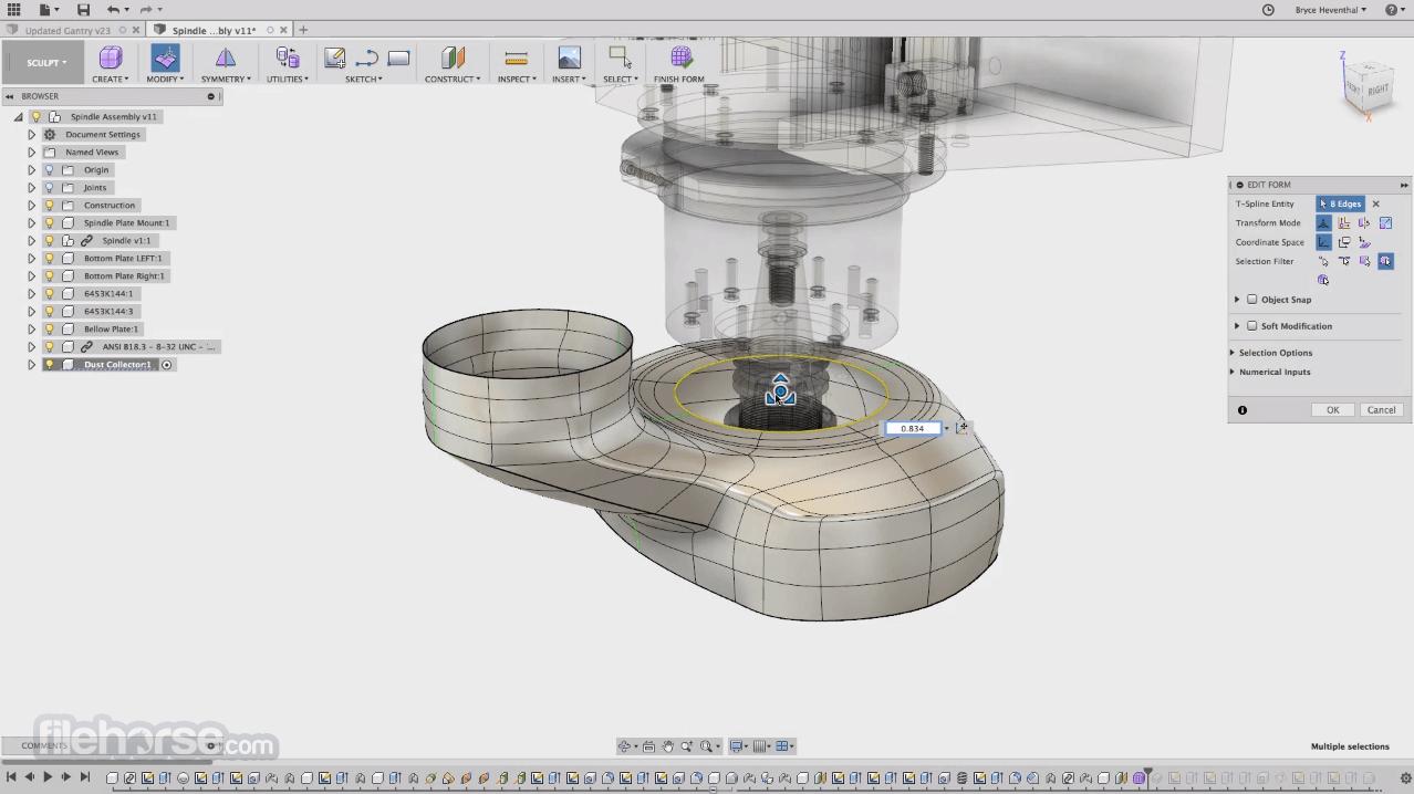 Autodesk Fusion 360 Screenshot 1