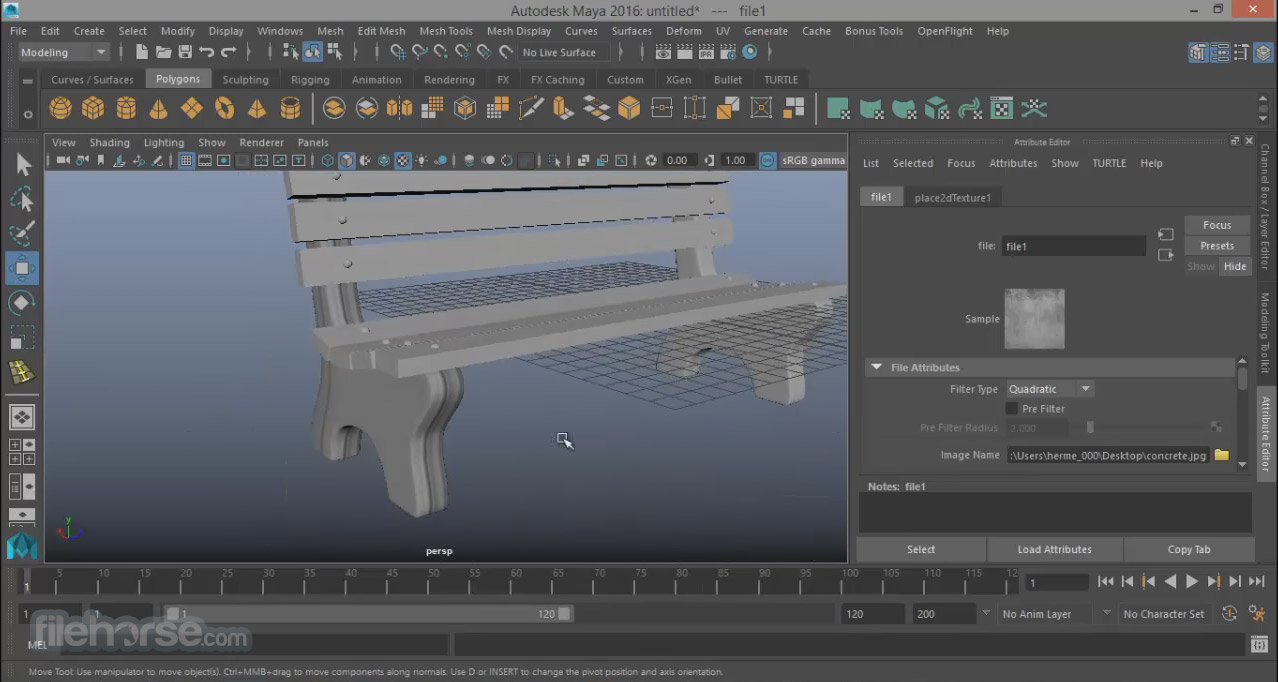 Autodesk Maya 2018.2 Screenshot 3