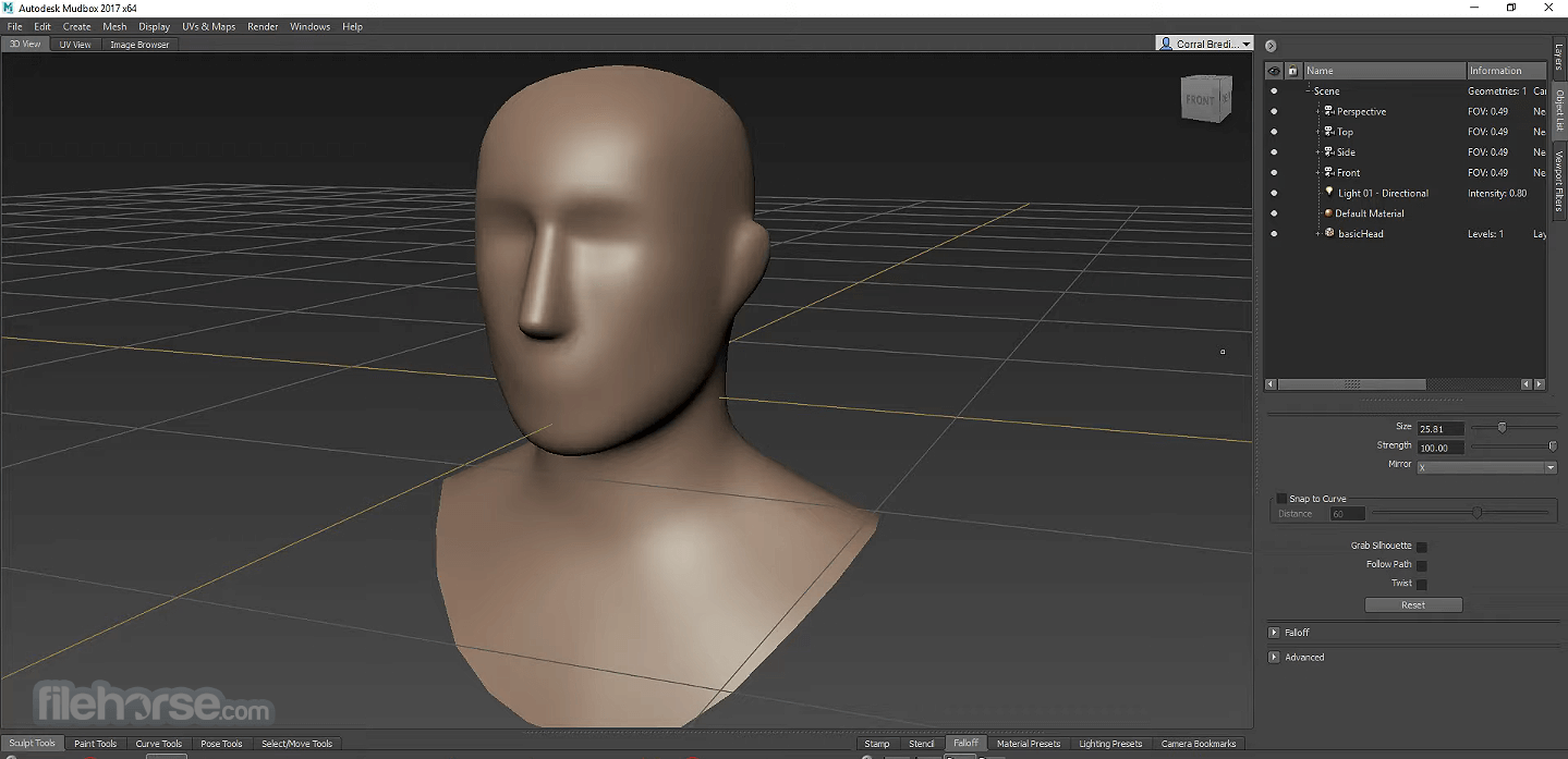 Autodesk Mudbox 2020 Captura de Pantalla 2
