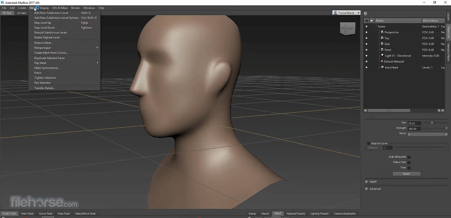 Autodesk Mudbox 2020 Captura de Pantalla 3