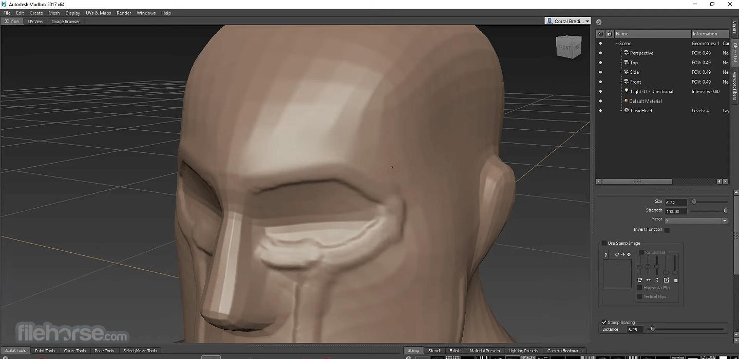Autodesk Mudbox 2020 Captura de Pantalla 4