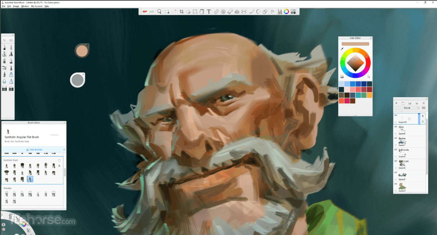 Autodesk SketchBook 8.5.1 (32-bit) Screenshot 4