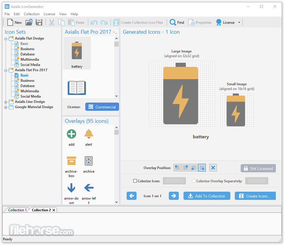 Axialis IconGenerator 1.4 Screenshot 2