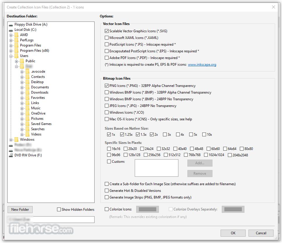 Axialis IconGenerator 1.4 Screenshot 3