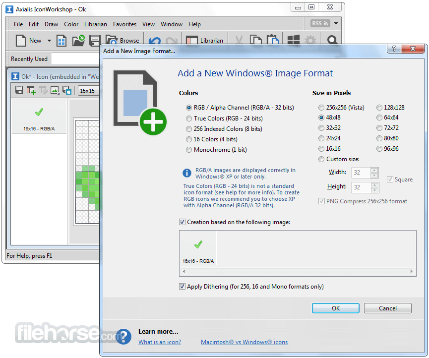 Axialis IconWorkshop 6.91 Screenshot 2