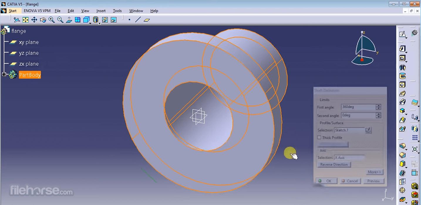 CATIA R2019x Screenshot 2