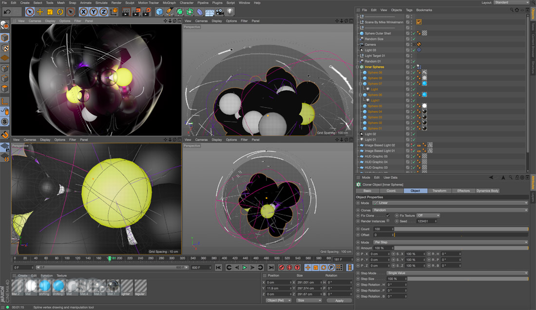 CINEMA 4D 20.026 Captura de Pantalla 1