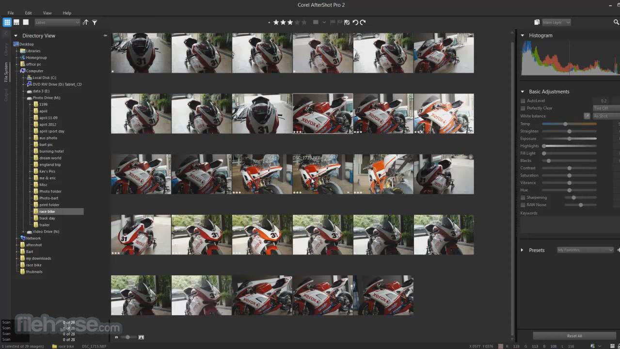 Corel AfterShot Pro 3.4 (64-bit) Screenshot 1
