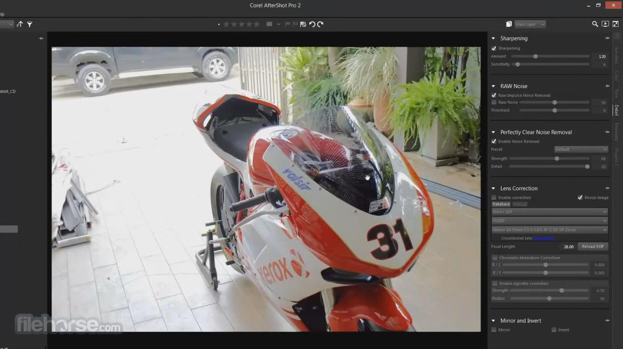 Corel AfterShot Pro 3.3 (64-bit) Captura de Pantalla 3