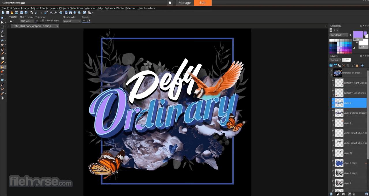 free download corel paintshop pro x4 ultimate full version