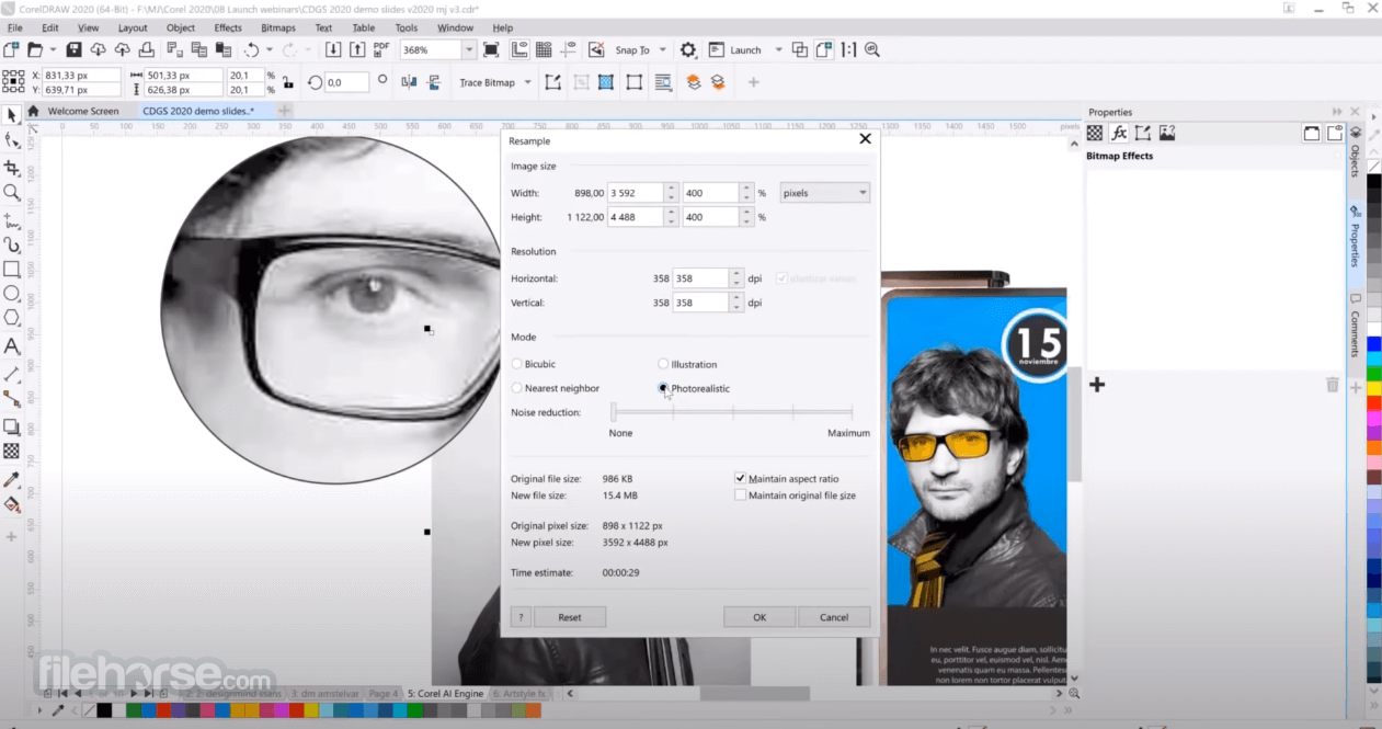 CorelDRAW Graphics Suite 2018 Captura de Pantalla 3