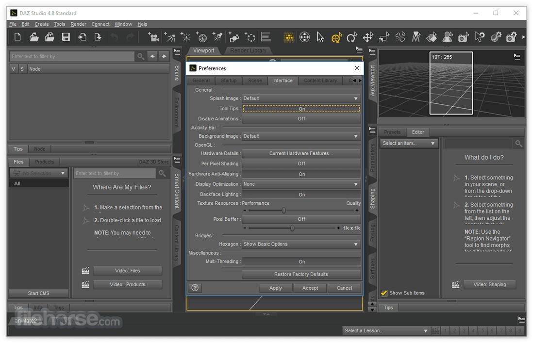 DAZ Studio 4.10 Screenshot 5