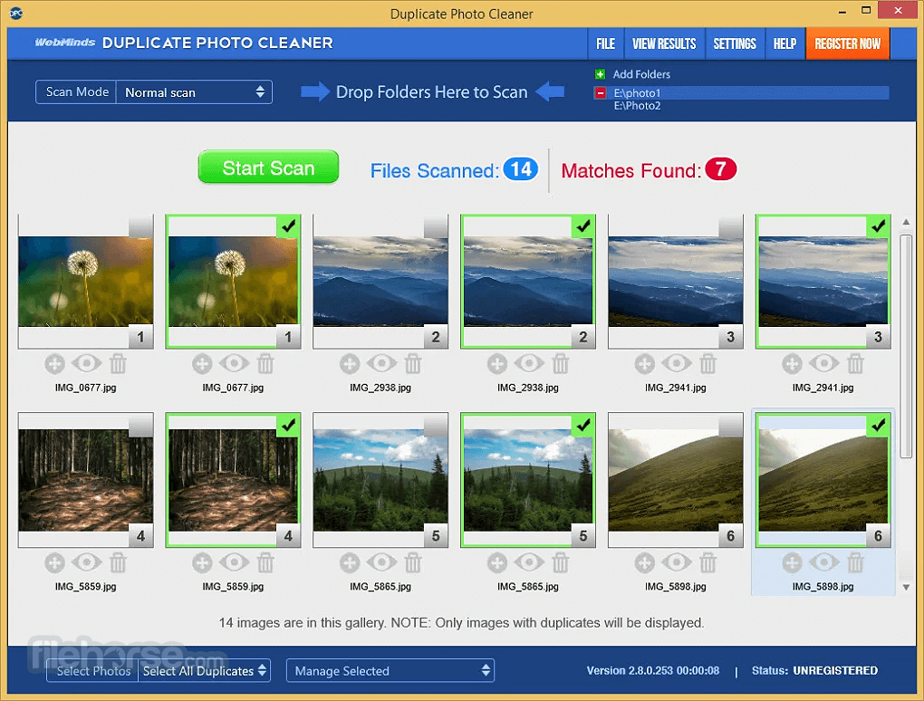 Duplicate Photo Cleaner 5.21.0.1278 Captura de Pantalla 1