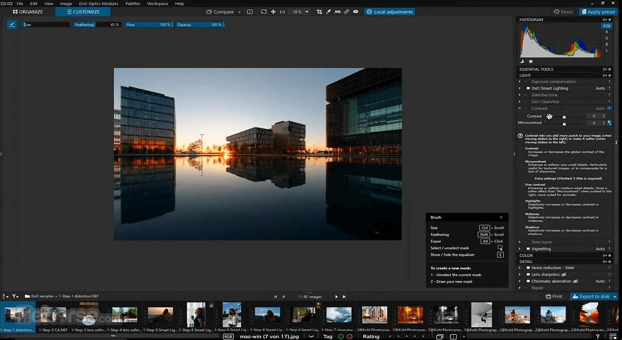 DxO PhotoLab 4.3.1 Screenshot 1
