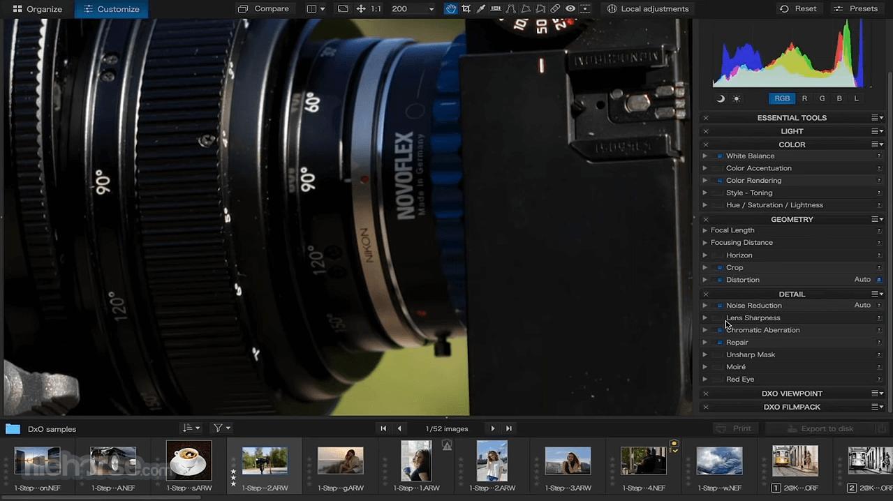 DxO PhotoLab 4.3.1 Screenshot 2