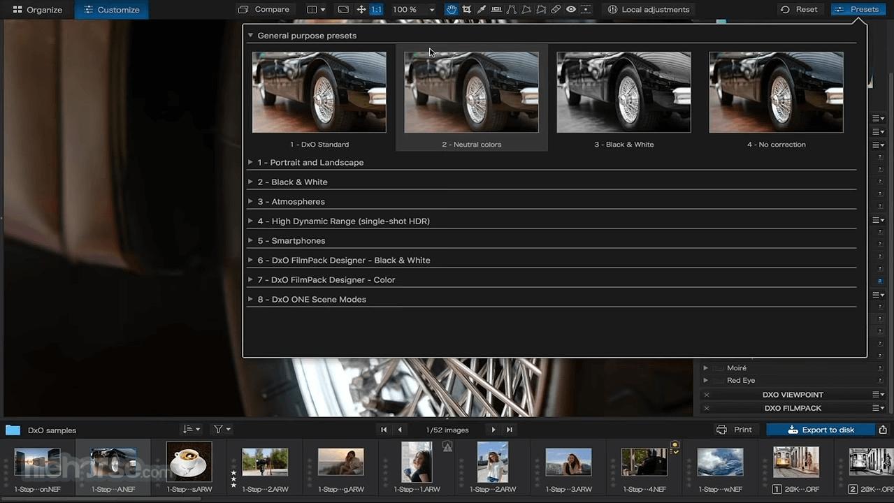 DxO PhotoLab 4.3.1 Screenshot 5