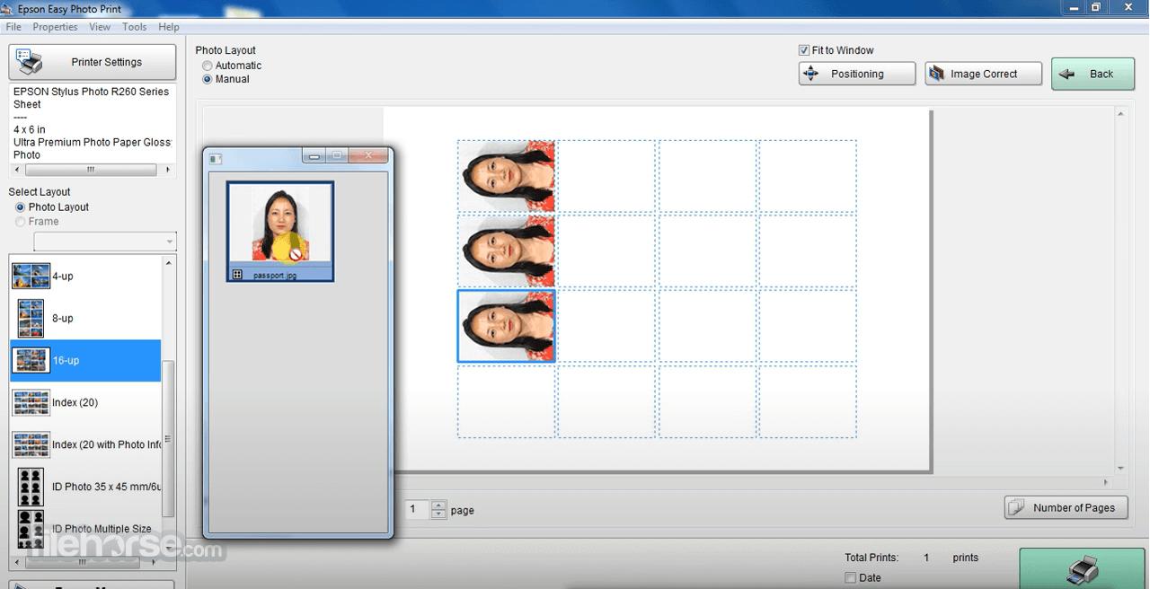 Epson Easy Photo Print 2.83 Screenshot 2
