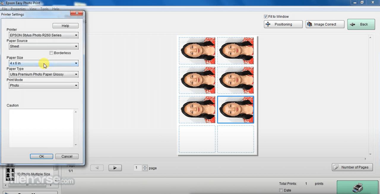 Epson Easy Photo Print 2.83 Screenshot 3