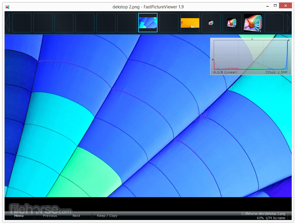 FastPictureViewer 1.9.360.0 (64-bit) Captura de Pantalla 1
