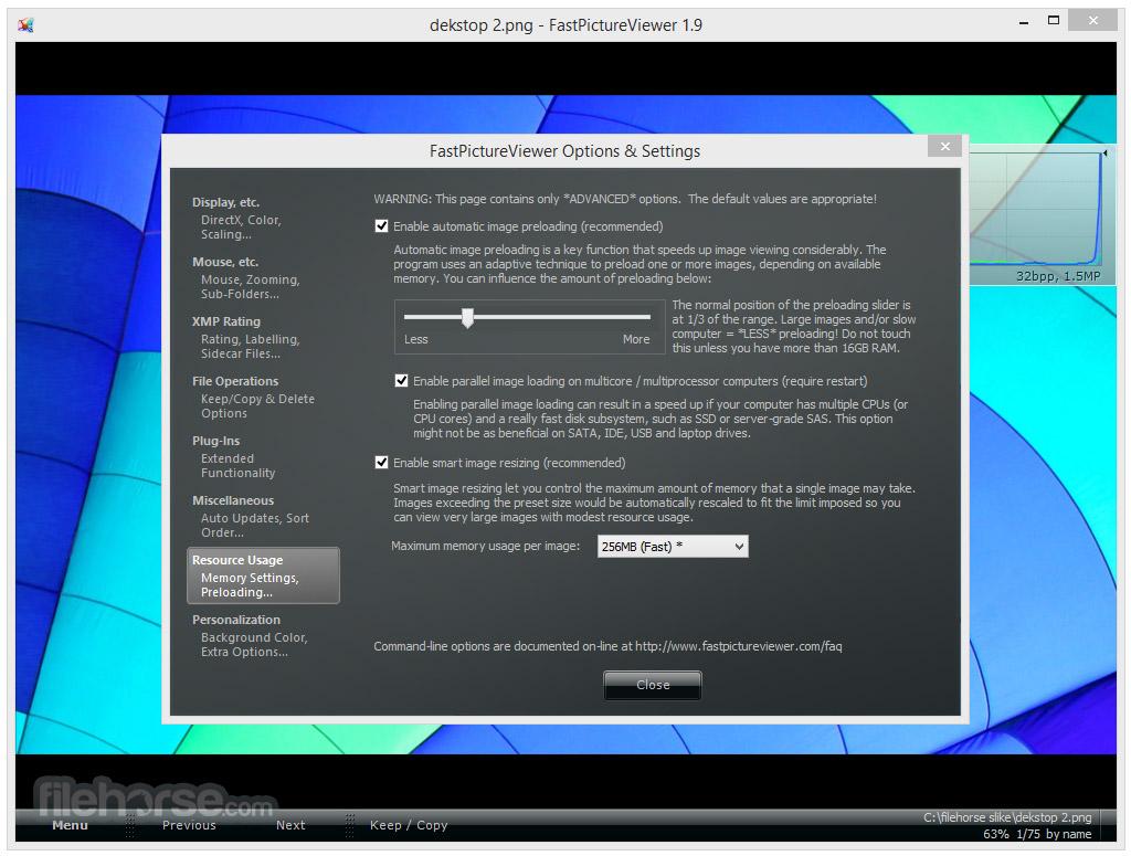 FastPictureViewer 1.9.360.0 (32-bit) Screenshot 2