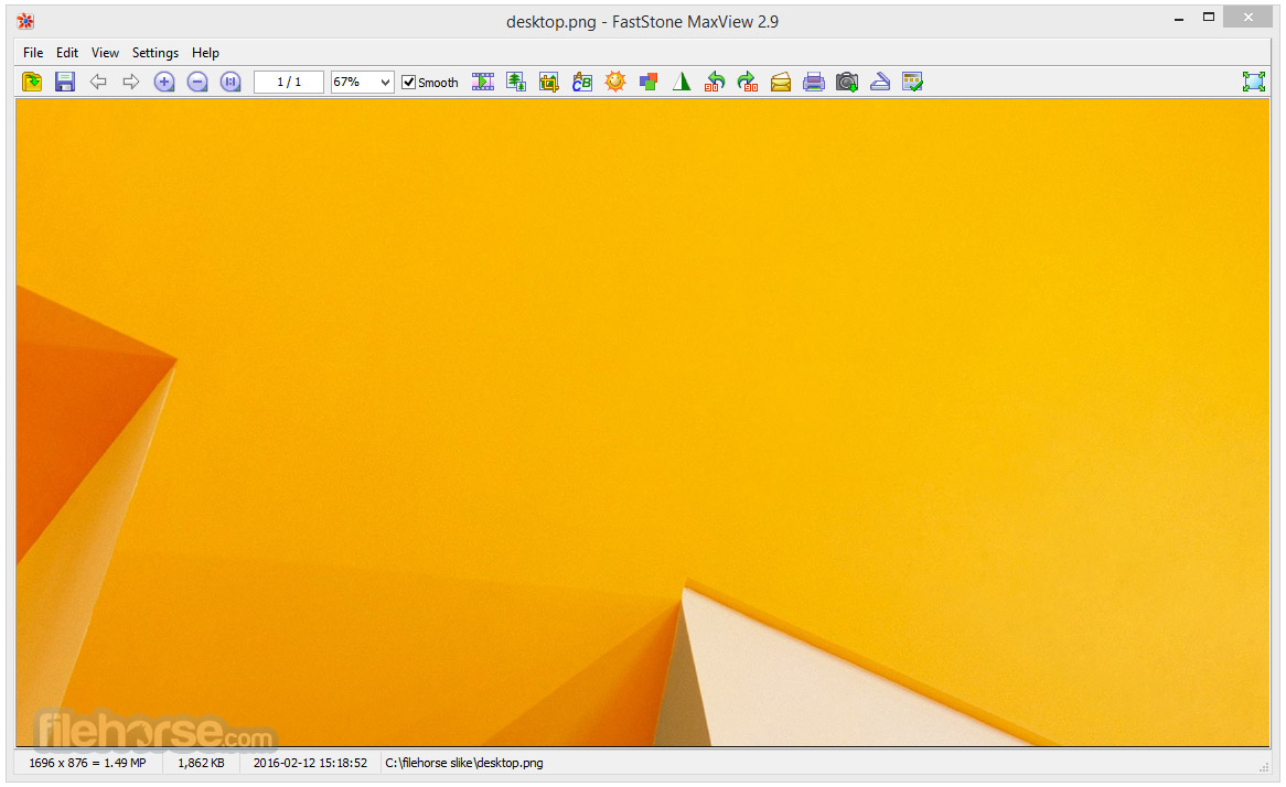 FastStone MaxView 3.1 Captura de Pantalla 1